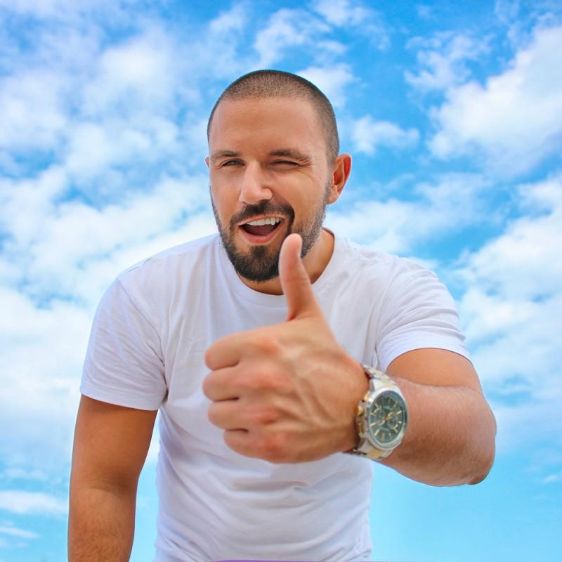 Cómo disimular las canas de la barba