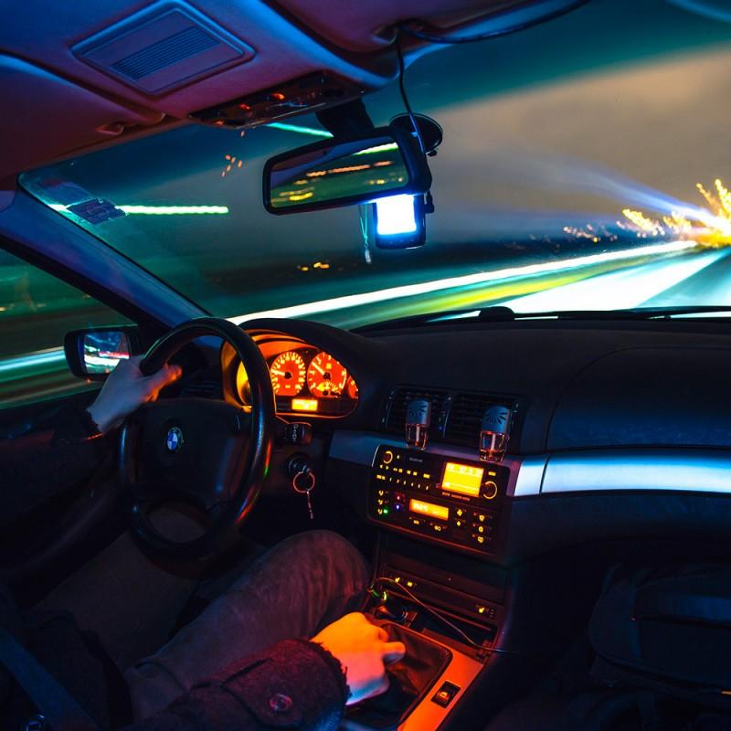 Cómo conducir de noche de forma segura