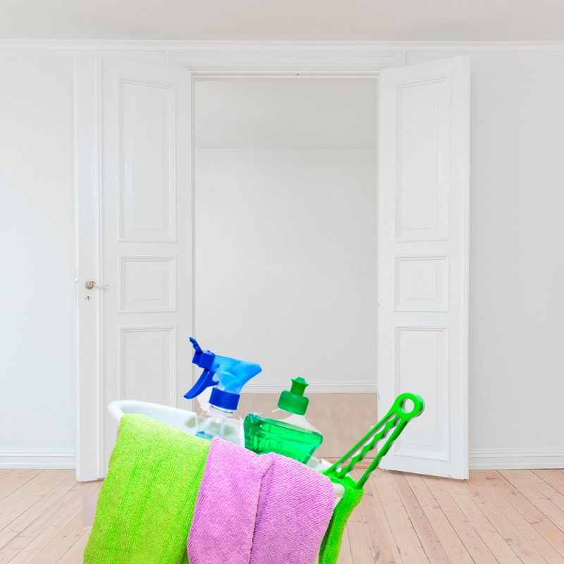 Cómo limpiar las paredes de tu casa sin estropear la pintura