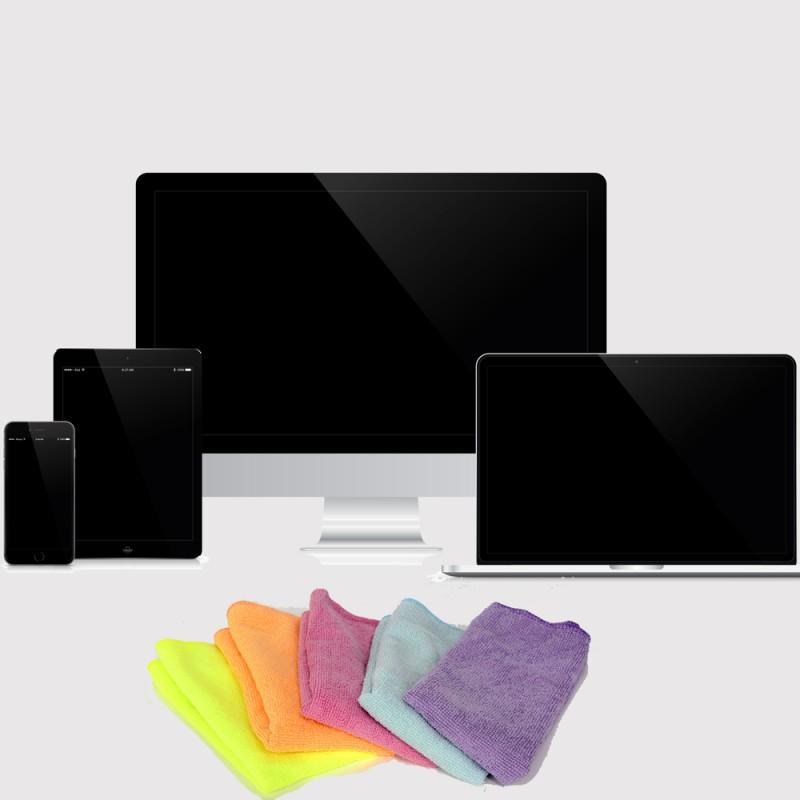 Cómo limpiar la pantalla del televisor, ordenador, tablet o móvil sin estropearla