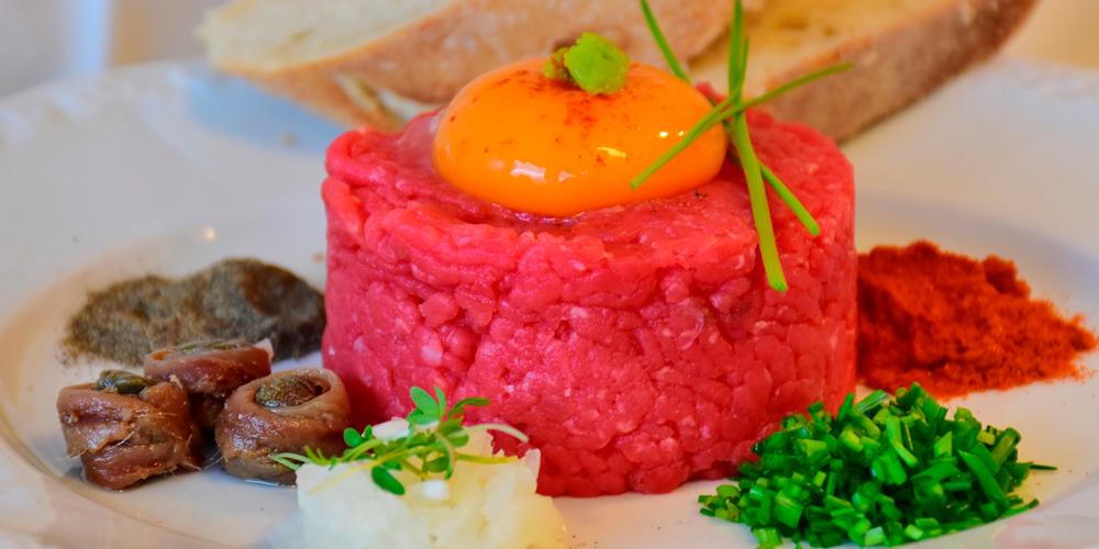caloría de carnes y pescados