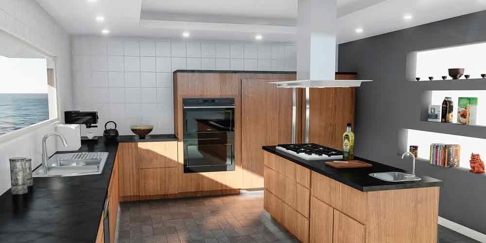 iluminar la cocina