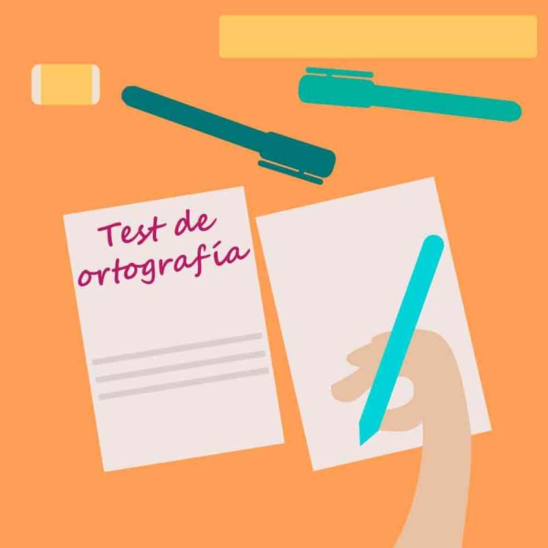 26 preguntas de ortografía para niños y adultos.  Test de ortografía