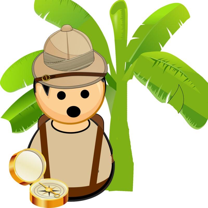 El explorador fanfarrón. Cuentos con moraleja inventados por niños