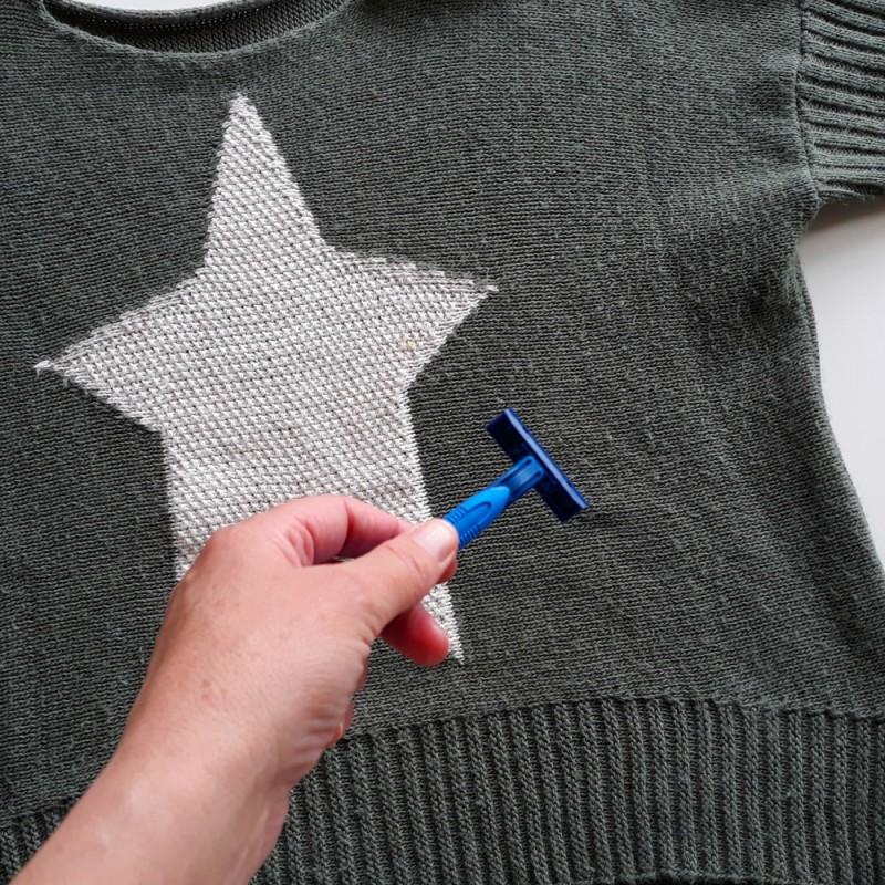 Cómo quitar las bolitas de la ropa. Trucos caseros muy útiles