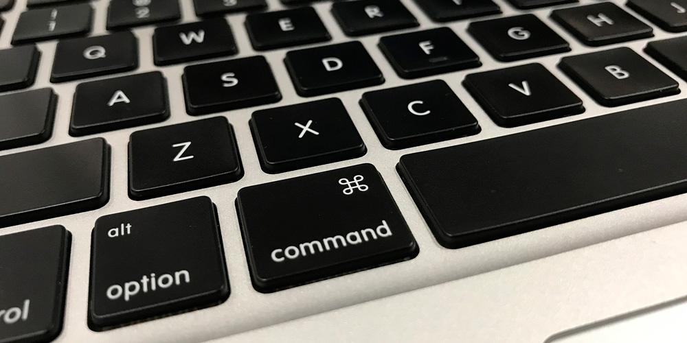 atajos de teclado de mac