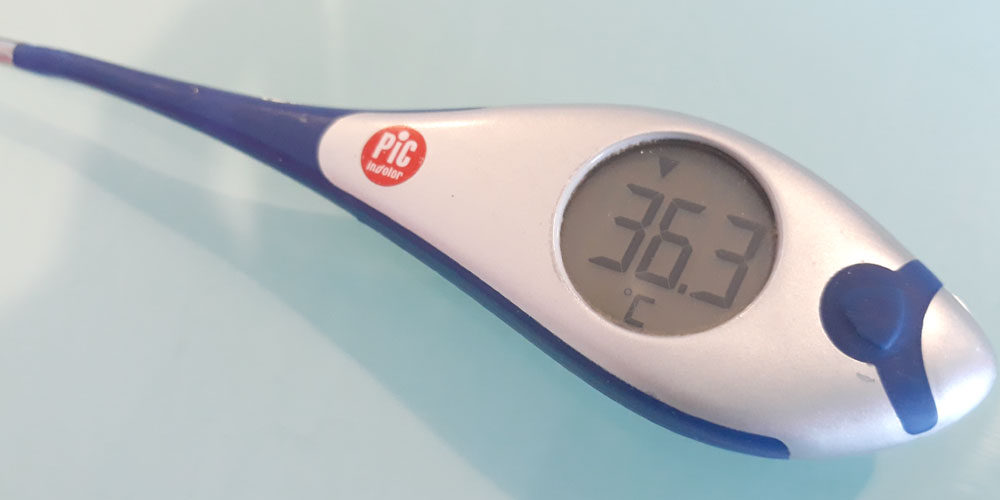 Temperatura corporal del ser humano normal