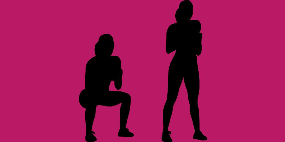 sentadillas para piernas y glúteos