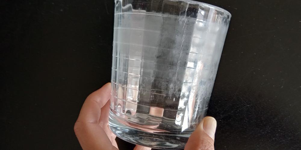vasos opacos y sin brillo, qué hacer