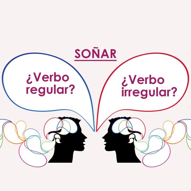 Cuál es la diferencia entre verbos regulares e irregulares (con ejemplos)