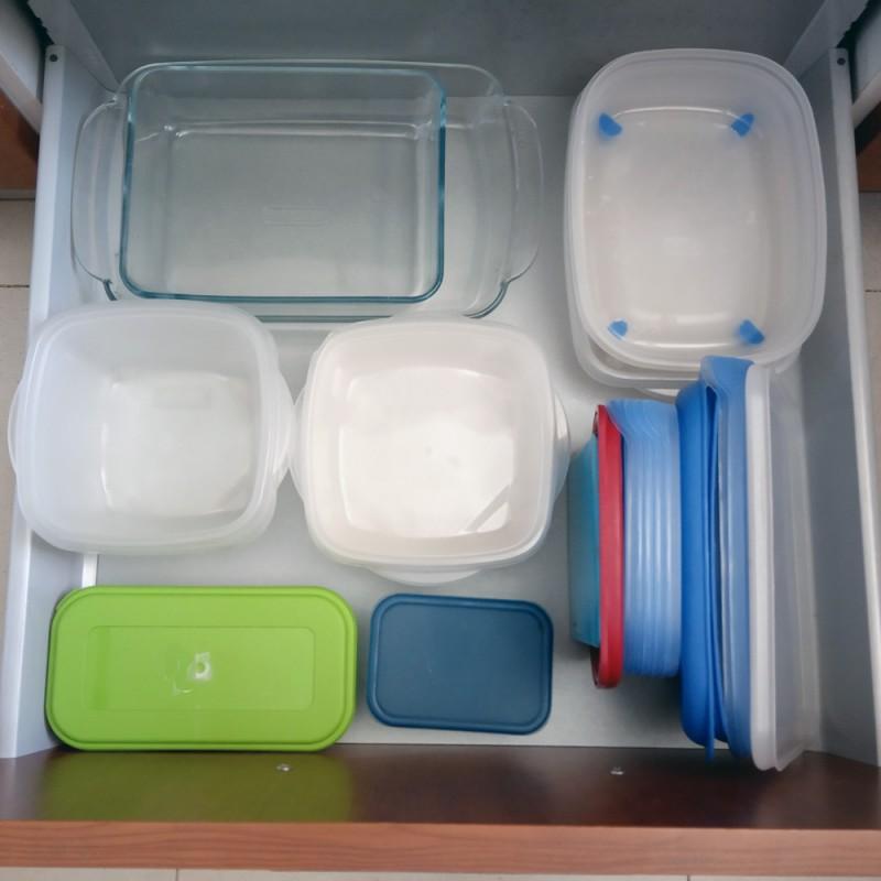 Cómo organizar bien los tuppers en tu cocina