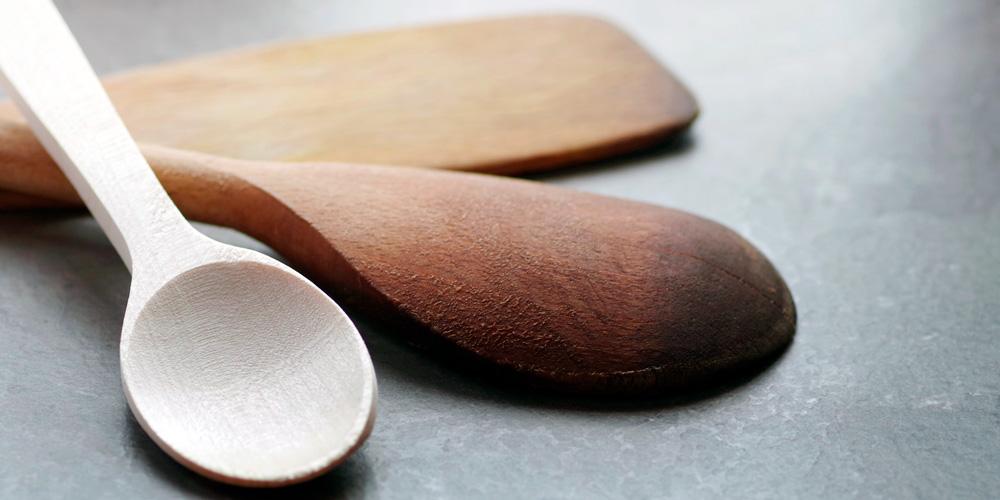 cuidar los utensilios de madera