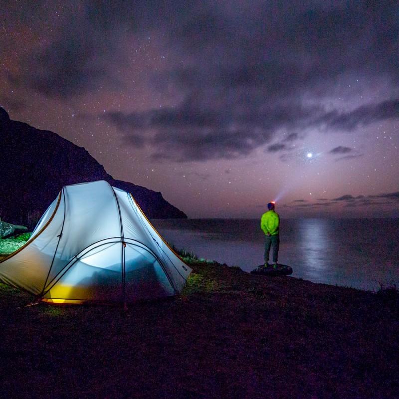 Cuáles son los beneficios de ir de camping en familia o solo