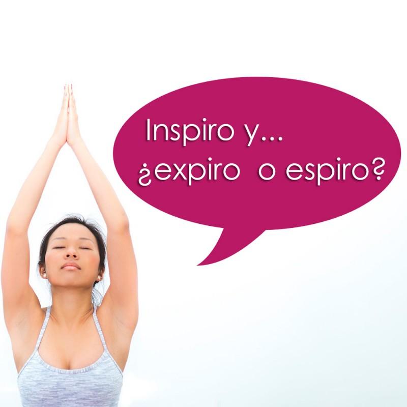 Cuál es la diferencia entre expirar y espirar. Ojo... ¡no es lo mismo!