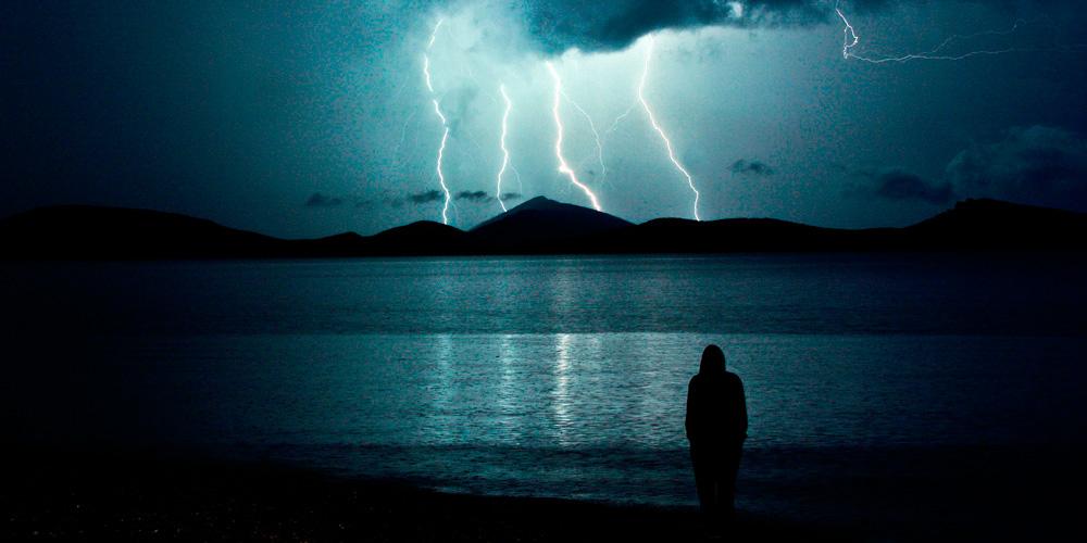 protegerse en una tormenta eléctrica