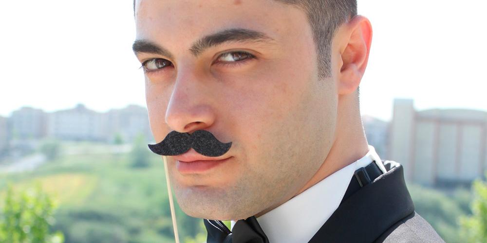 lucir un buen bigote