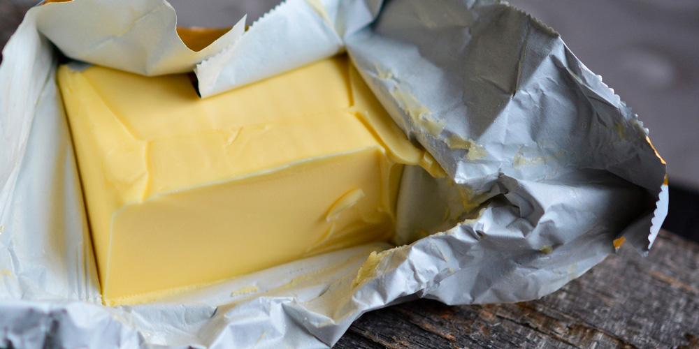 calorías de la mantequilla
