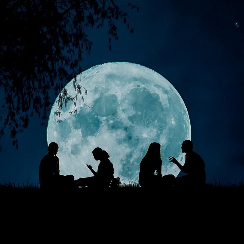 Por qué la luna parece más grande en el horizonte: ilusión lunar