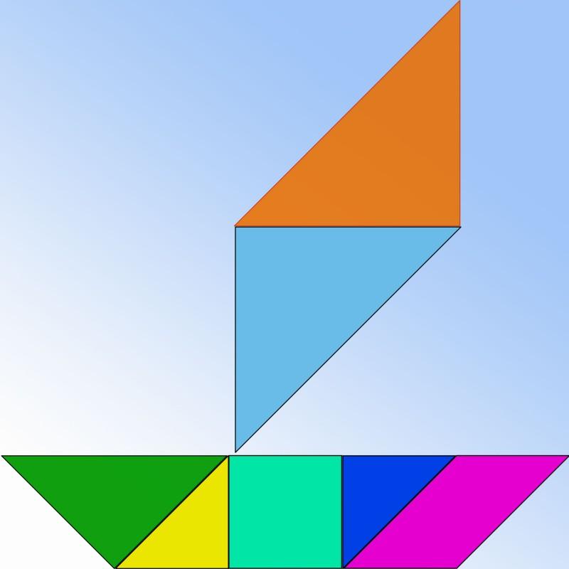 Qué es el tangram y cómo se juega