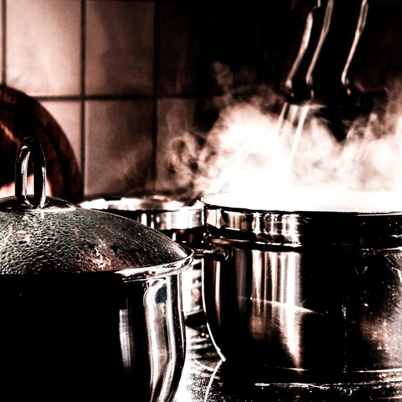 ¿Hervir o cocinar al vapor los alimentos?