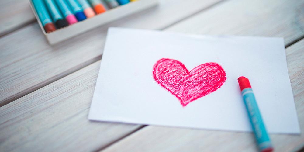 por qué dibujamos el corazón así