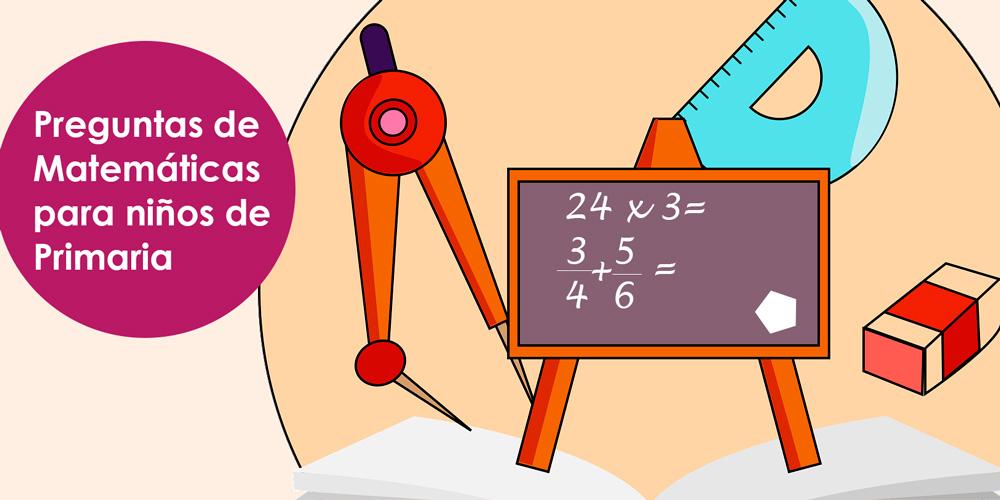 preguntas de matemáticas para niños