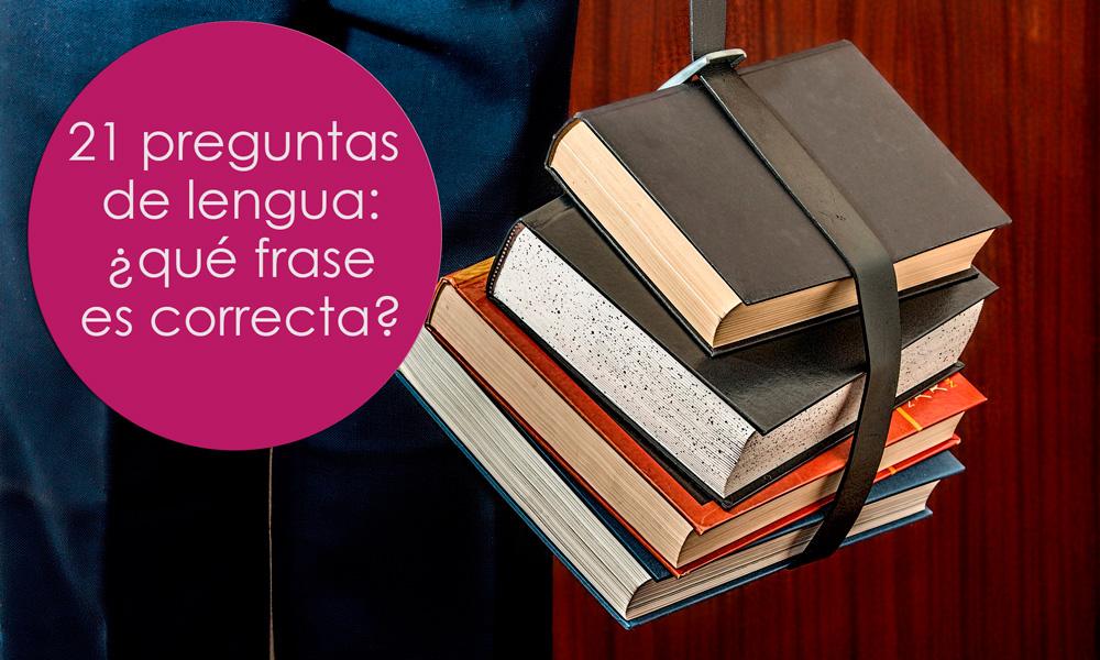 preguntas de lengua para niños y adultos