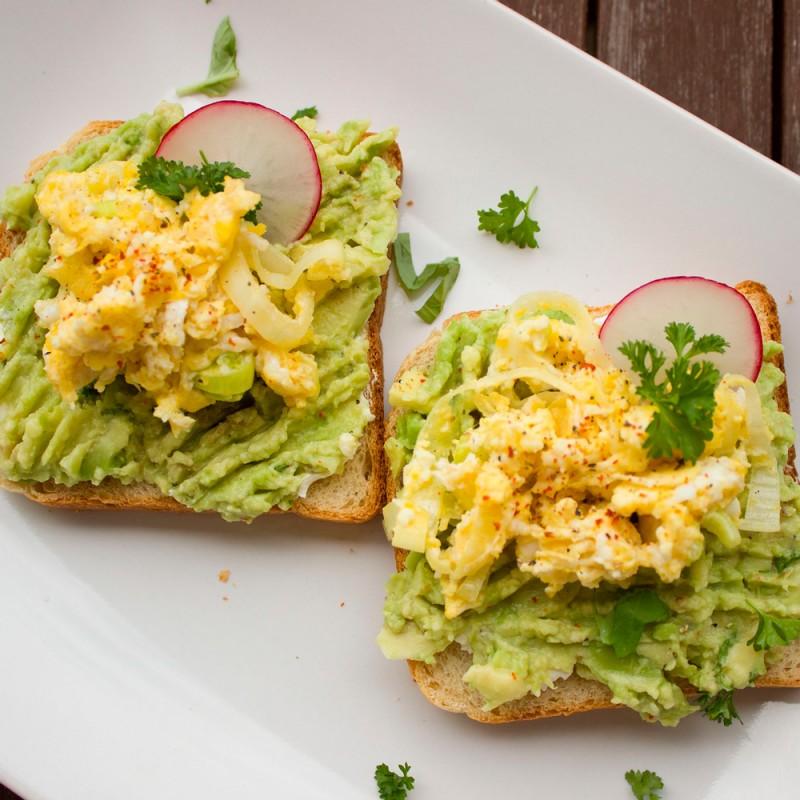 ¿Qué desayunar? 7 Ideas de desayunos con aguacate