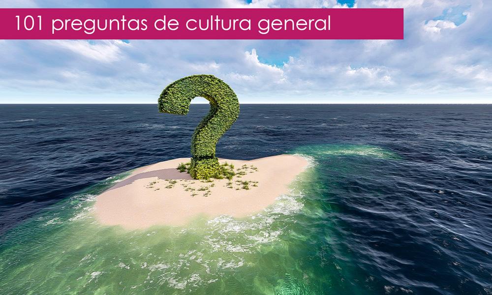 101 preguntas de cultura general muy divertidas