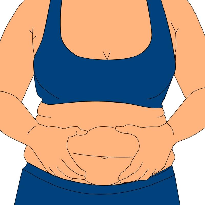 Por qué se acumula la grasa en las piernas, caderas y abdomen