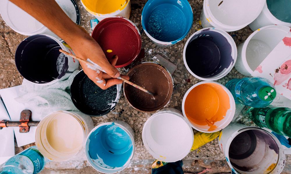 qué tipo de pintura elegir para pintar