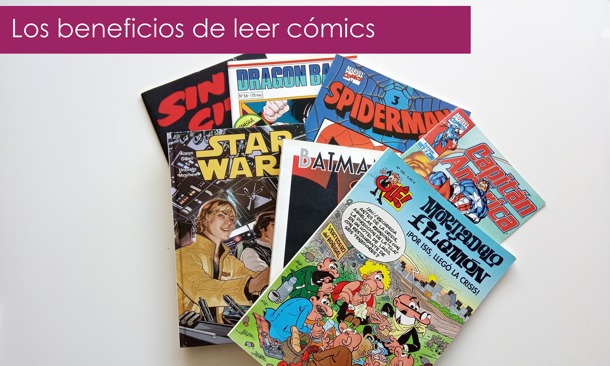beneficios de leer cómics