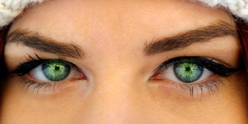 Origen de los ojos verdes
