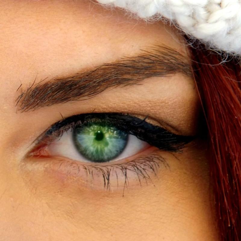 Cuál es el verdadero origen de los ojos verdes. Por qué pocas personas tienen los ojos de color verde