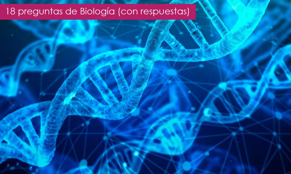 preguntas sobre biología