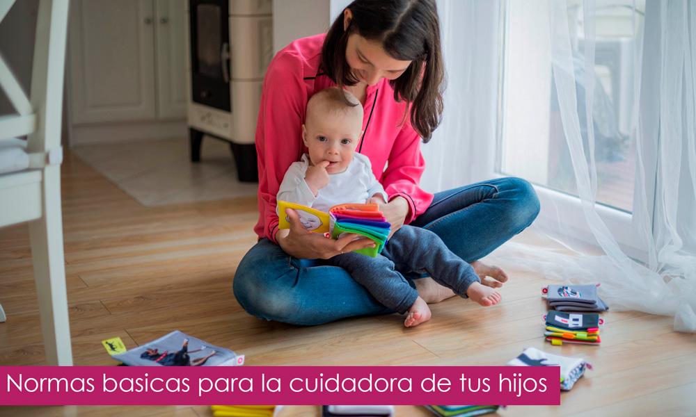 normas para la niñera de tus hijos