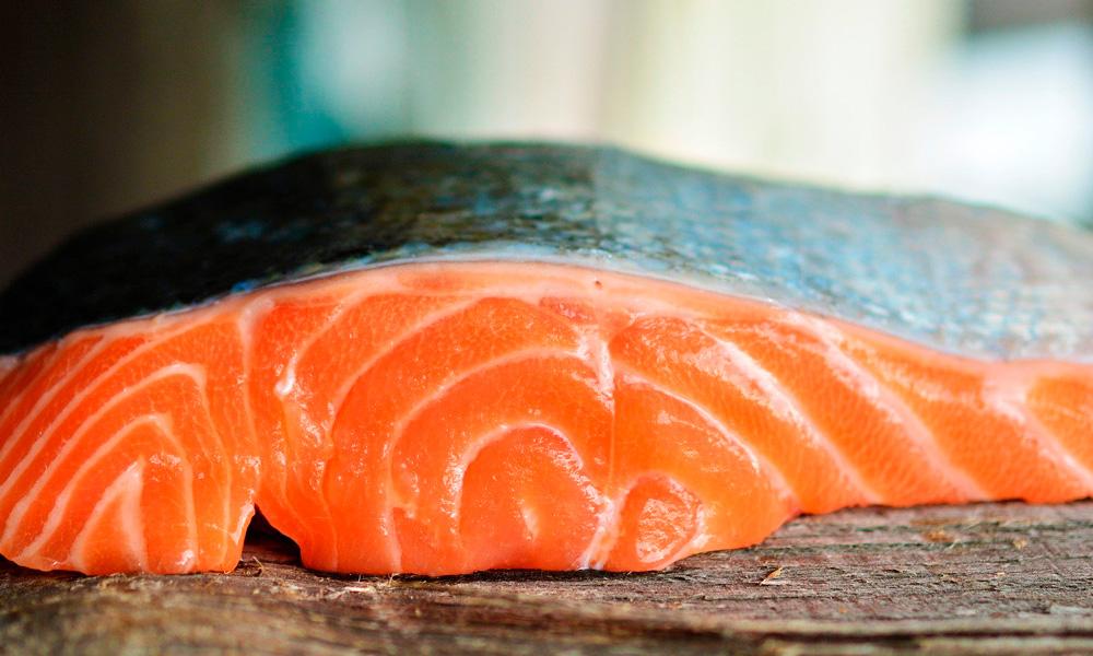 salmón marinado, receta fácil