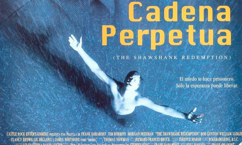 cadena perpetua, película basada en el libro de Stephen King