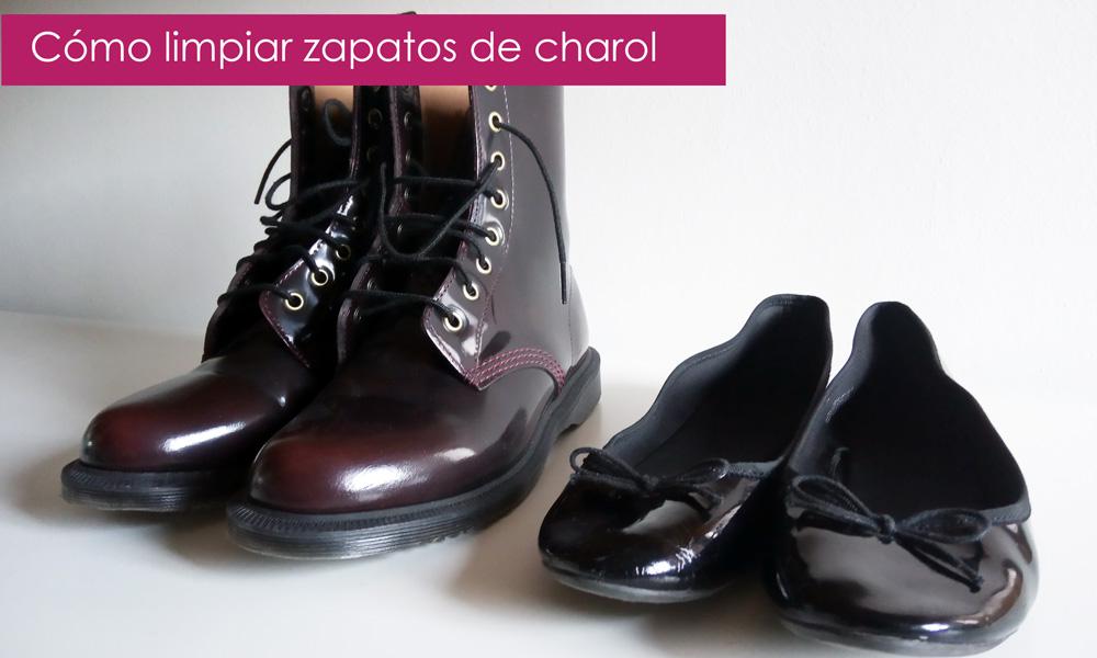 zapatos de charol: trucos de limpieza