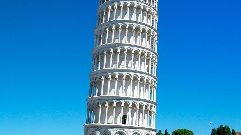foto de Por qué está inclinada la Torre de Pisa