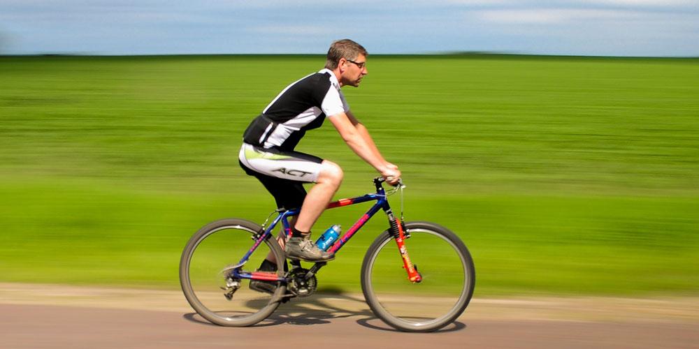 Cuántas calorías se queman montando en bicicleta