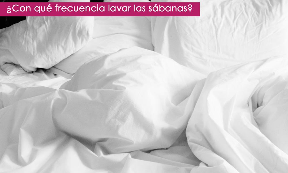 cada cuánto lavar las sábanas