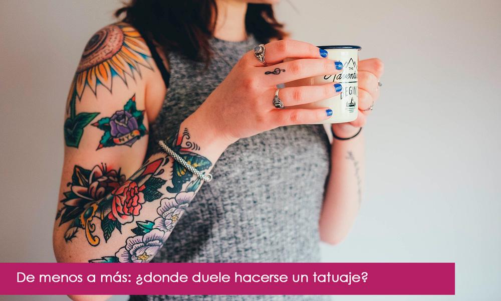 dónde duelen los tatuajes