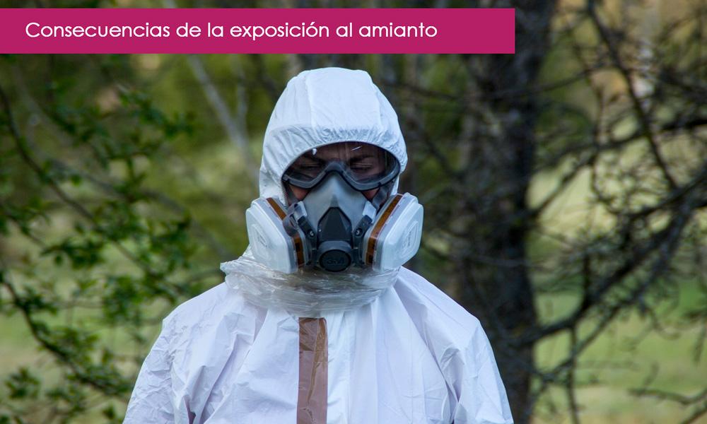 consecuencias de la exposición al amianto