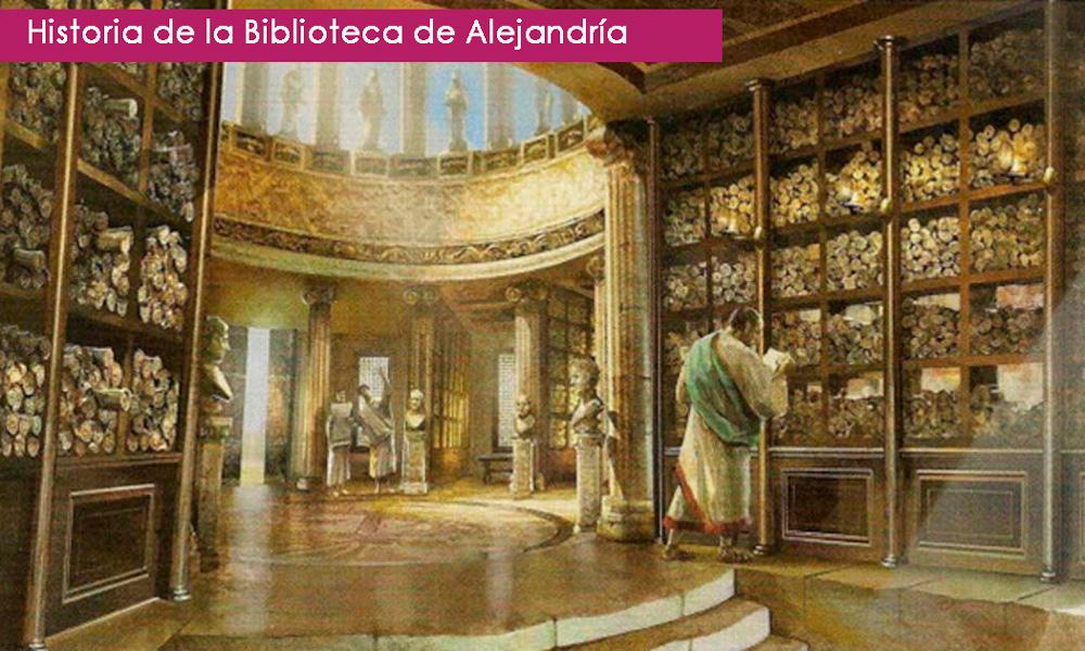 biblioteca de alejandría: historia