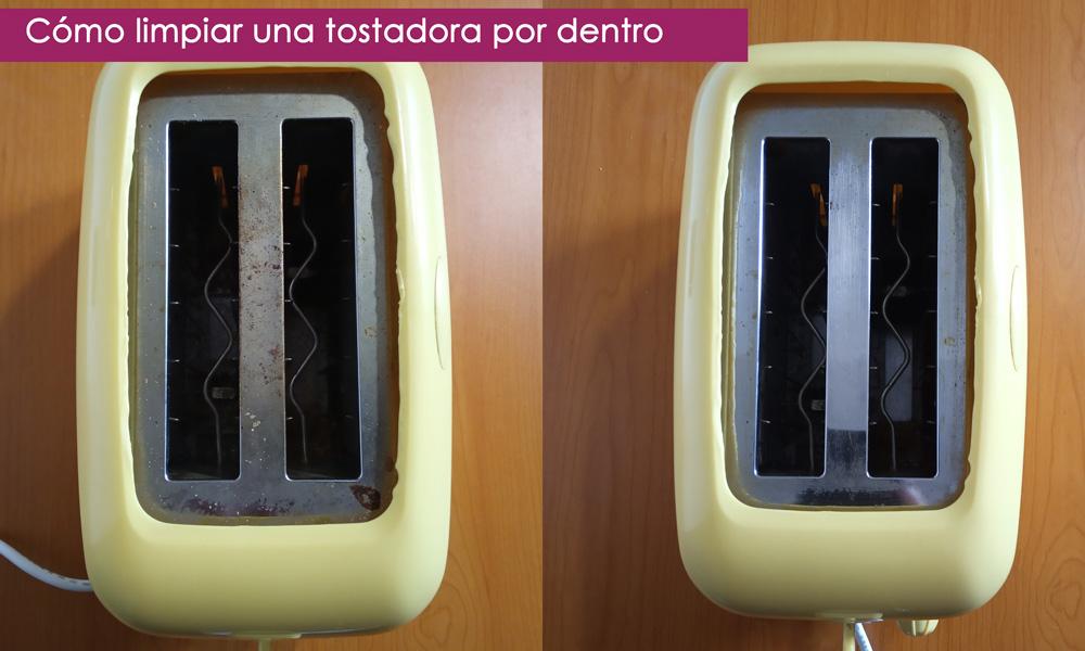 trucos para limpiar el tostador por dentro