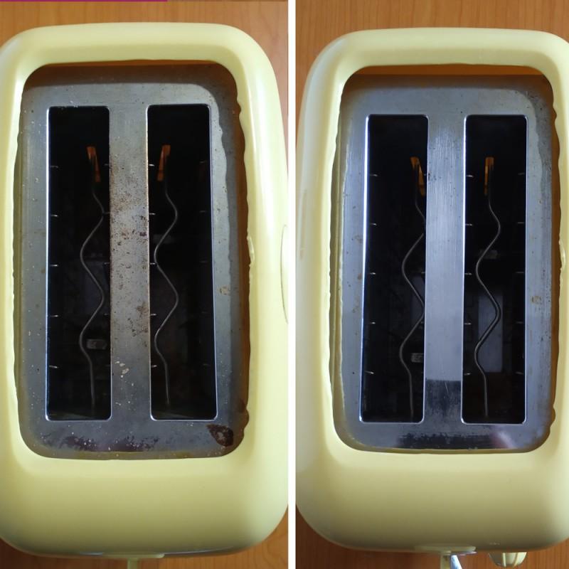 Cómo limpiar una tostadora por dentro en 10 minutos