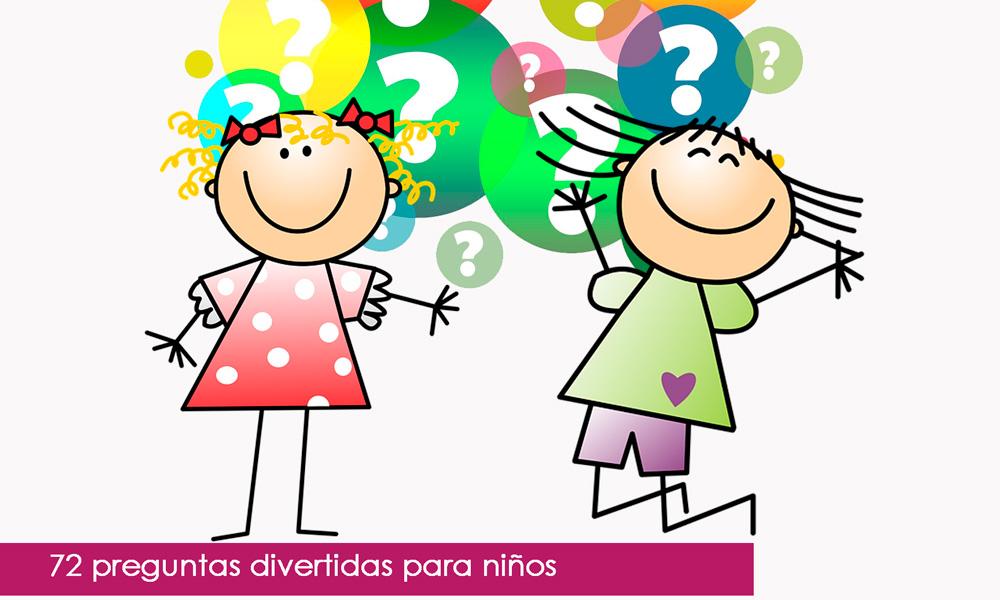 Preguntas divertidas para niños