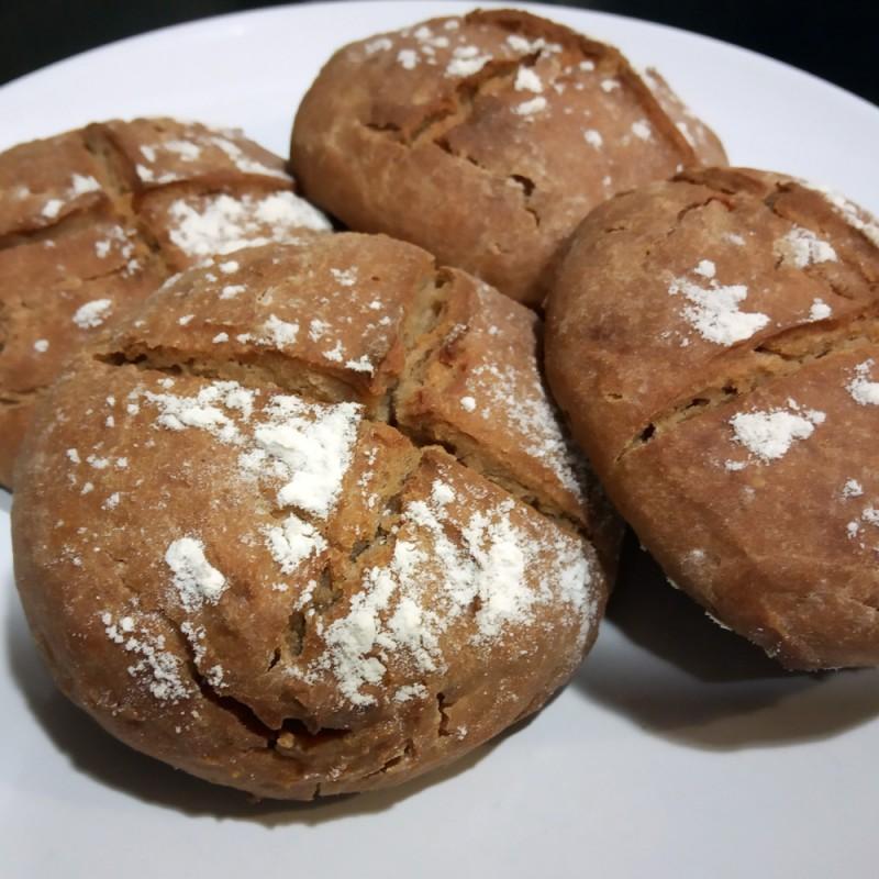 Cómo hacer pan rústico en casa (receta casera fácil)