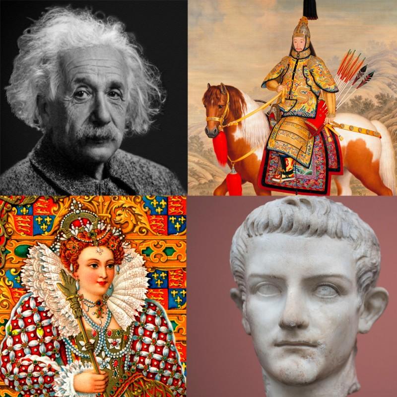 Test de personajes históricos: 33 preguntas sobre personalidades de la historia